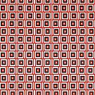 Red square pattern by dominiquelandau