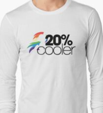 20% Cooler! (ALL options) - WHITE Long Sleeve T-Shirt