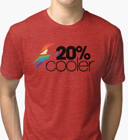 20% Cooler! (ALL options) - WHITE Tri-blend T-Shirt