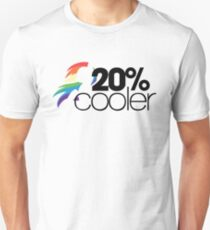 20% Cooler! (ALL options) - WHITE Unisex T-Shirt