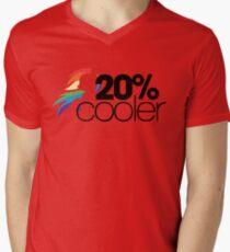 20% Cooler! (ALL options) - WHITE Mens V-Neck T-Shirt