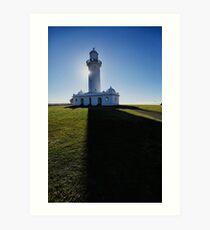 Macquarie Lighthouse shadows Art Print