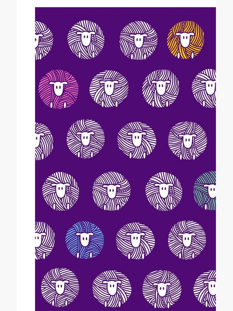 Garn Ball Schafe von istaria