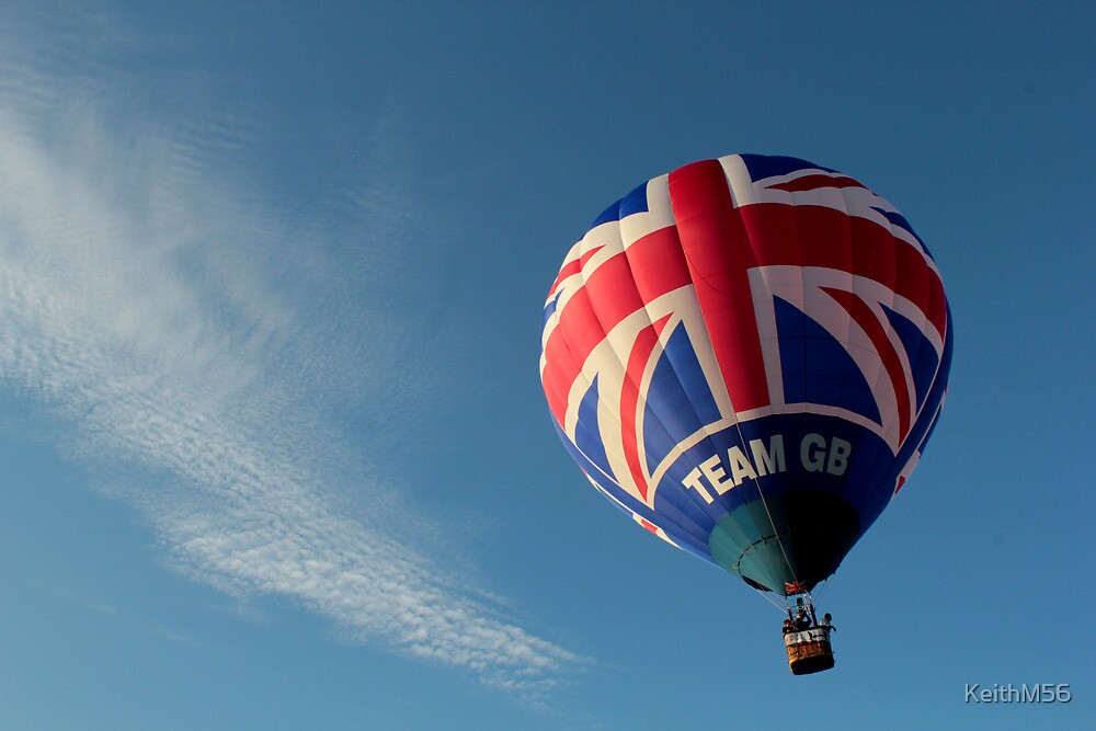 Team GB in the sky! by KeithM56