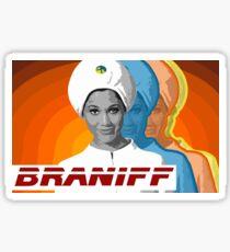 BRANIFF Sticker