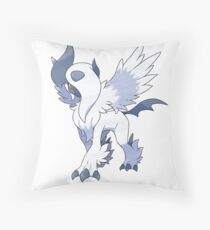 Mega Absol Throw Pillow