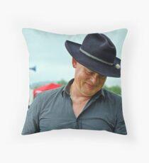 The Doc Is In ~ Buckham Fair Throw Pillow