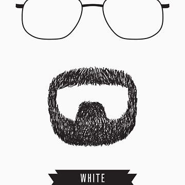 Beards with Glasses – Walter 'Heisenberg' White by zeddhead