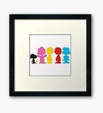 Peanuts Framed Print