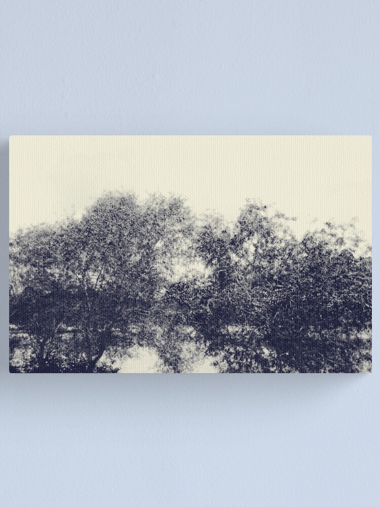 Alternate view of The river flows Canvas Print