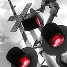 Railroad Crossing by Christopher Herrfurth