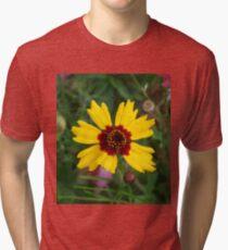 Summer Flower Tri-blend T-Shirt