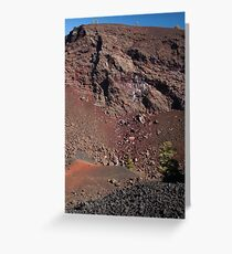 Big Craters Greeting Card