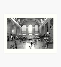 Main Concourse, Grand Central Art Print