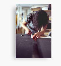 Designer Portrait Metal Print