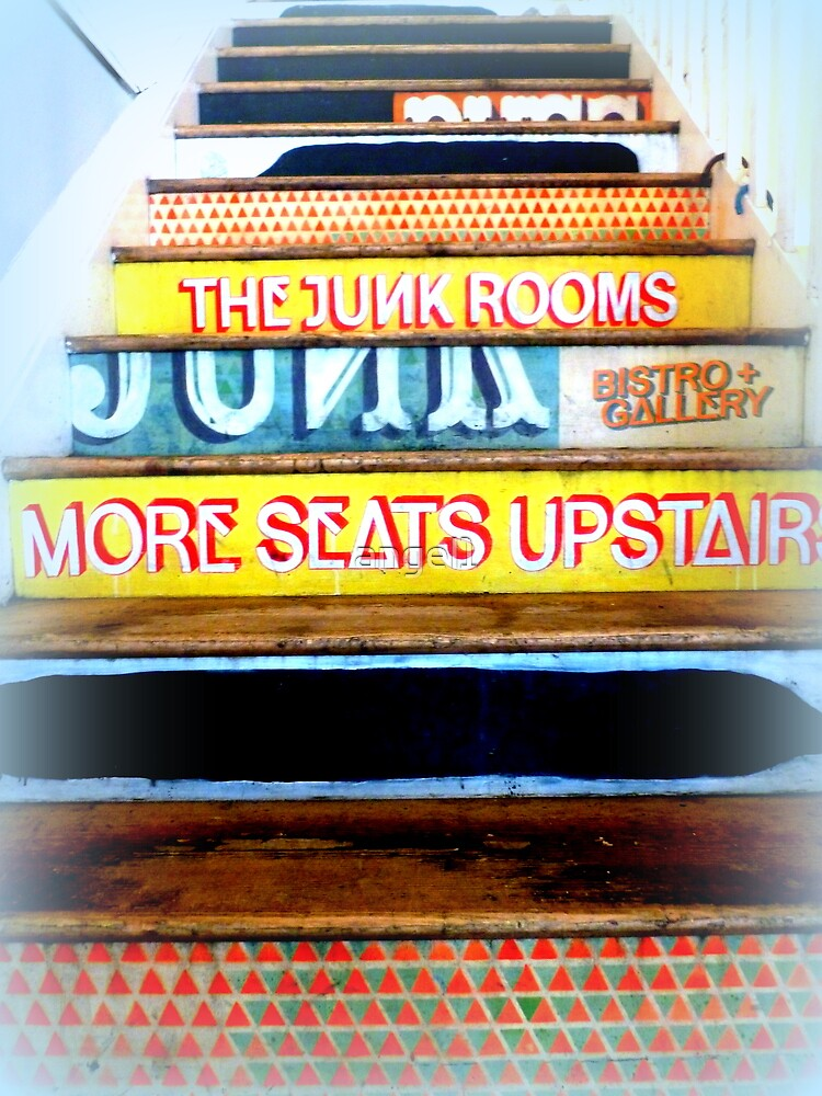 The Junk Rooms Staircase ~ Stirling by ©The Creative  Minds
