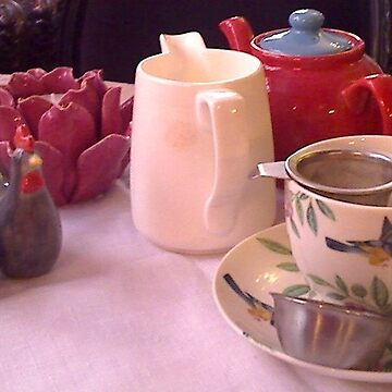 Alice in Wonderland Tea Room by BevsDigitalArt