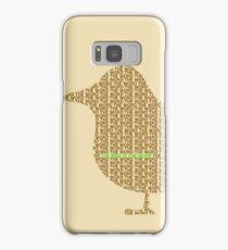 Bird is the Word Samsung Galaxy Case/Skin