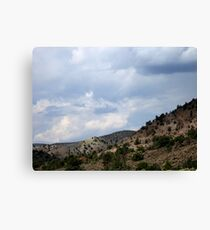 The Beauty Of Rural Nevada Canvas Print