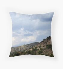 The Beauty Of Rural Nevada Throw Pillow