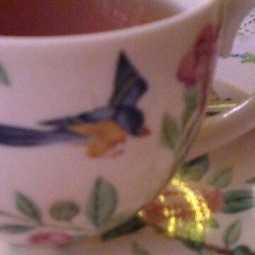 Tea Cup by BevsDigitalArt