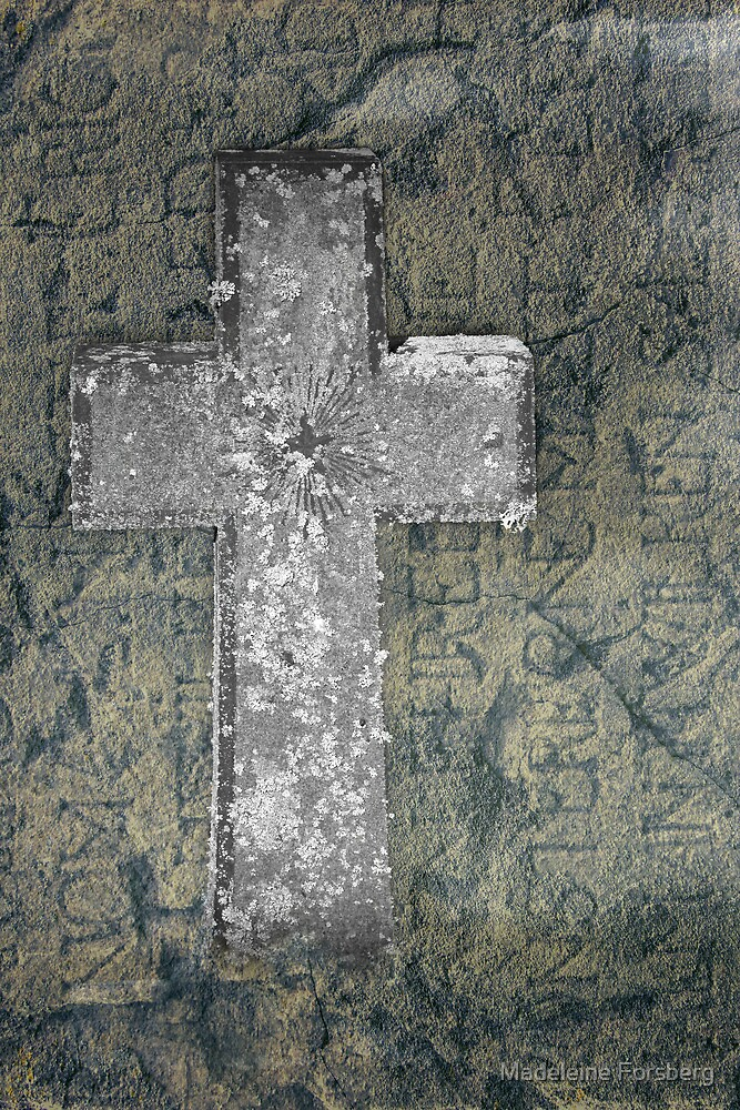 Ancient Cross by Madeleine Forsberg