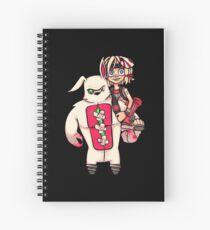 Tiny Tina - Annie Tibbers Spiral Notebook