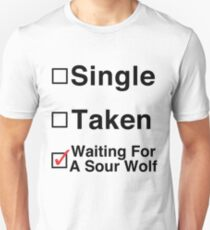 Waiting for a Sour Wolf T-Shirt
