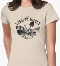 The LeQuint Dickey Mining Co. Women's Fitted T-Shirt