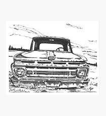 FORD truck in GA Photographic Print