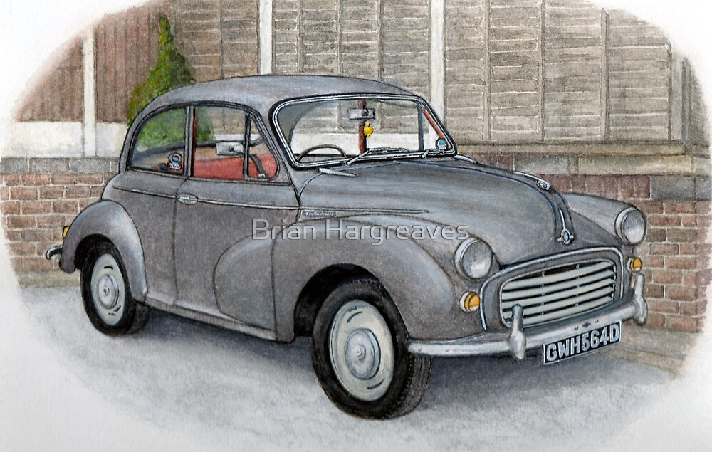 Morris Minor by Brian Hargreaves
