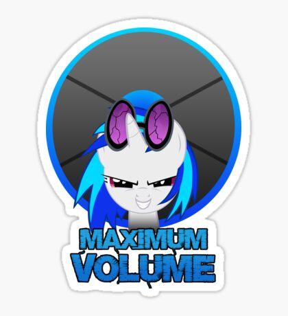 Maximum Volume Sticker