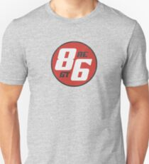 86 - AE or GT?   (dark print) T-Shirt
