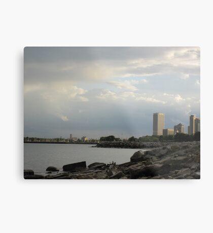 Milwaukee Cityscape 08 19 2012 Metal Print