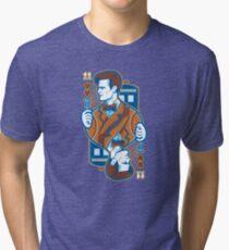 11th of Hearts Tri-blend T-Shirt