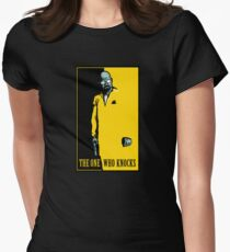 The One Who Knocks Women's Fitted T-Shirt