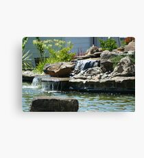 Waterfalls in Suburbia Canvas Print