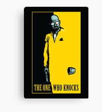 The One Who Knocks - POSTER Canvas Print