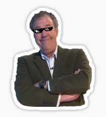 Jeremy Clarkson Deal with It Sticker