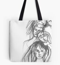 Stacked - A Study Tote Bag