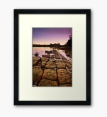 Sunrise at Eggs and Bacon Bay, Tasmania Framed Print