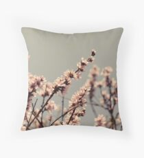 Blossoms... Throw Pillow