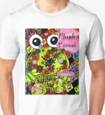 Plush forest coloring book cover Unisex T-Shirt