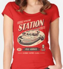Tosche Station Women's Fitted Scoop T-Shirt
