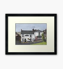 Reeth Ice Cream Parlour, Swaledale Framed Print