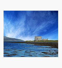 Martello Tower County Clare Ireland Photographic Print