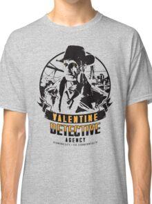 Valentine Detective Agency - Black Classic T-Shirt