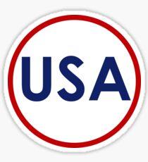 United States of America Sticker