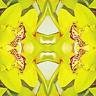 Yellow Fractal 3 by vjchoolun