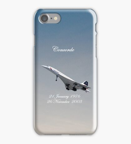 Concorde iPhone Case iPhone Case/Skin